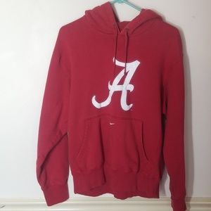 Mens Medium Nike team Alabama hoodie